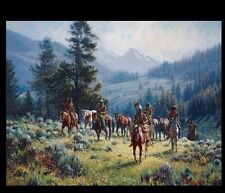Martin Grelle MONARCHS OF NORTH giclee canvas - s/n ed.