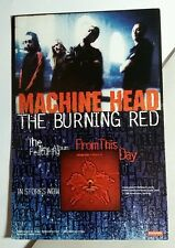 MACHINE HEAD THE BURNING RED MUSIC 4X6 POSTCARD SM POSTER