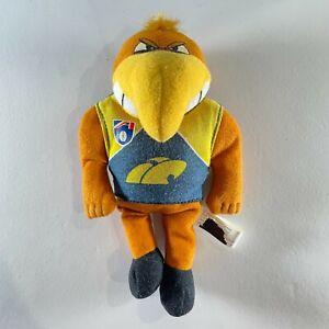 AFL WEST COAST EAGLES 1990's vintage Small Plush Beanie doll