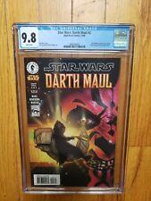 Star Wars Darth Maul #3 CGC 9.8 1st App of Mighella Nightsister Dark Horse 2000