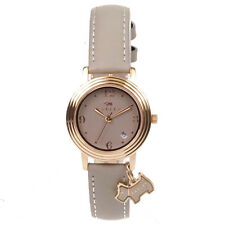 Radley RY2006 Darlington Rose Gold & Taupe Leather Dog Charm Watch | RRP £85.00