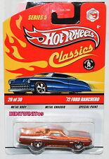 Hot Wheels Classics Series 1.5m72 Ford Ranchero 29/30 W+