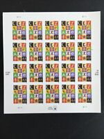 2009 sheet 44-cent CELEBRATE! stamps Sc# 4407