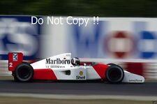 Gerhard Berger McLaren MP4 / 7A F1 STAGIONE 1992 Fotografia 4