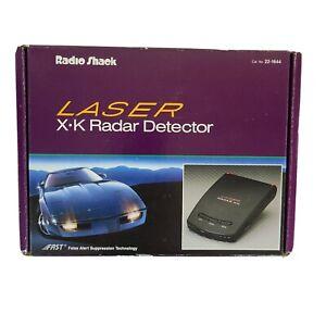 Vintage Nostalgic RadioShack K Laser X-K Radar Detector Auto Car 22-1644 80s 90s