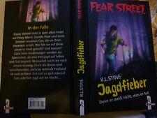 Jagdfieber Denn er weiß nicht, was er tut von R. L. Stine Fear Street Buch gebr.
