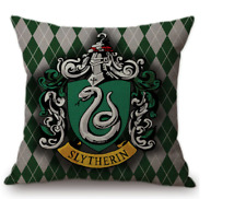 Harry Potter Pillow Cover - Slytherin