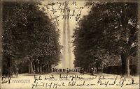 Hannover Niedersachsen 1905 Fontäne Park Herrenhausen alte AK nach Winterfeld