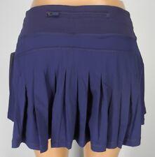 81661253ab NEW LULULEMON Circuit Breaker Skirt REG 2 4 6 8 10 12 Twilight Blue Run  Train