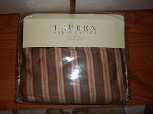 NIP Ralph Lauren Cape Catherine Striped King Bedskirt