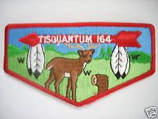 TISQUANTUM LODGE PATCH S-21