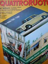 Quattroruote n°122 1966   - Test su strada NUS Prinz 1000 S [Q79A]
