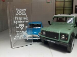 Triplex Laminated Windscreen Label Decal Austin Rover Classic Mini Triumph