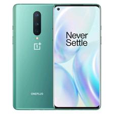 OnePlus 8 5G 12/256GB Dual-SIM Glacial Green Verde Garanzia EU NUOVO
