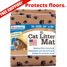 New listing Cat Litter Mat, Extra Large, Machine Washable & Dryable Non Slip Footing