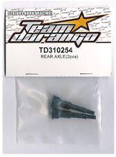 RC Car Team Durango Rear Axle DEX210 (2) TD310254 1:10 2WD Electric Buggy