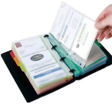 1PC Business Card Holder Book Name Card Organizer Book Case Book 180 Cards NEW