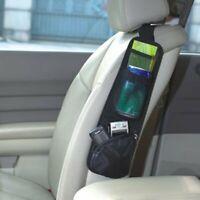 Car Auto Seat Side Storage Pocket Backseat Organizer Bag Black Hanging Holder X2