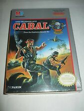 Cabal (Nintendo Entertainment System NES, 1990) NEW Factory Sealed