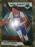 Cameron Johnson 2019-20 Panini Mosaic NBA Debut Rookie Card RC #265 Suns