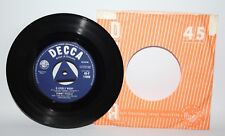 "Tommy Steele - A Lovely Night - 1958 Vinyl 7"" Single - Decca 45-F 11089"