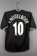 V. Nistelrooy Manchester United jersey Small 2005 away shirt Nike ig93