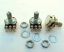 A500K 3 mini pot set Fender Stratocaster/jazz guitare basse 500K log potentiomètre