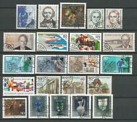 Germany Berlin 1986 Complete Year Set Definitive Commemorative Stamps CTO Used
