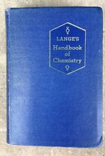 Handbook of Chemistry by Norbert Adolph Lange, Ph,D.