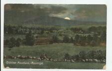 Crotchet Mountain Moonlight Postcard 1911 Bennington Francestown New Hampshire