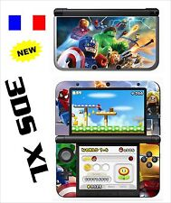 VINYL SKIN STICKER FOR NINTENDO 3DS XL - REF 197 LEGO MARVEL