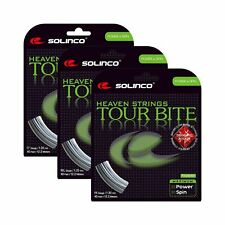Solinco-Tour Bite Diamond Rough Tennis String Silver-() 17