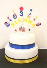 Princess, BIANCANEVE compleanno Cake Topper/Decorazione Personalizzata Nome, Età