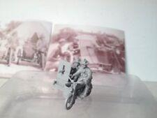 EWM Uscav33mp 1/76 Diecast WWII 2 US cav. on 1916 Harley motorcycle w/machine