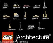 LEGO Architecture 21003 21006 21011 21013 21014 21015 21017 21018 21019 21020