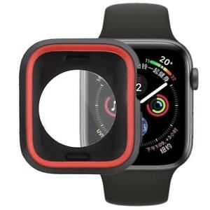 AMZER Silicone Full Coverage Case for Apple Watch Series 4 44mm - Red