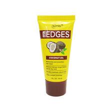 BMB Gel Edges Coconut Oil Moisturizes Smooth Hair Sheen Hair Hairlines Hold 1oz