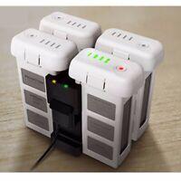 4-in-1 Multi Battery Charger Hub Manager Black Intelligent For DJI Phantom 3