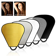 """Ls Portable Triangle 26"""" Lighting Reflector/Diffuser Kit for Photography"""
