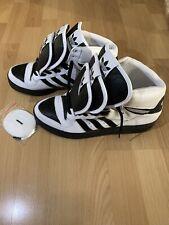 Adidas Jeremy Scott Triple tongue Wings Black White Shoes men Size 10 sneakers