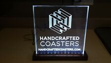 Custom edge lit acrylic sign / night light / display