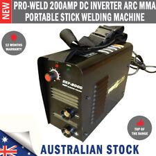 New Pro-Weld 200Amp DC Inverter ARC MMA Portable Stick Welding Machine Welder