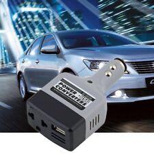Car Mobile Converter Inverter Adapter DC 12V/24V to AC 220V Charger Power USB DP