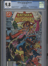 BATMAN AND THE OUTSIDERS #5 MT 9.8 CGC CANADIAN EDITION JIM APARO COVER AND ART