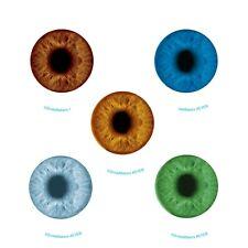 Glow in the Dark Eyeballs Stickers x 5 - Optometrist Rewards - Spooky Party Idea