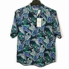 TOMMY BAHAMA LEAF IT TO CHANCE HAWAIIAN SILK CAMP SHIRT XL 2XL 3XL NWT $125