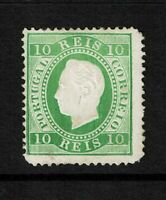 Portugal SC# 37c, Mint Hinged, lg pg remnant, small top tear, see notes - S7774
