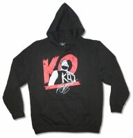WWE Wrestling KO Signature Kevin Owens Black Sweatshirt Hoodie New Official