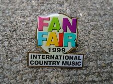 Vintage pin 1999 Fan Fair International Country music Lapel Pin Nashville