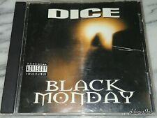 DICE BLACK MONDAY CD ESHAM DETROIT JUGGALO ICP